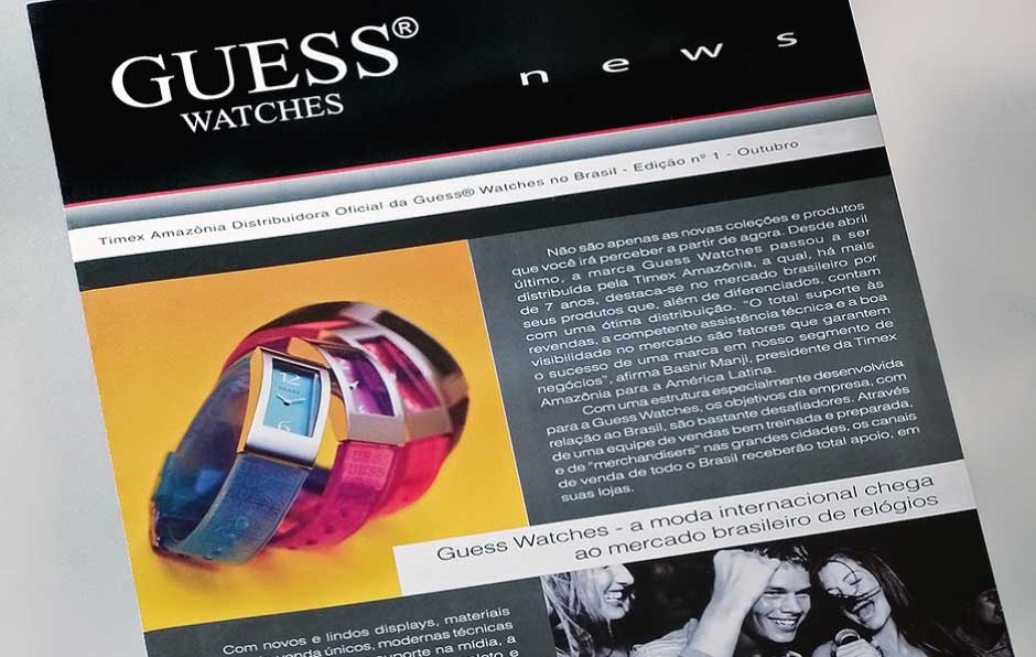 Guess Watches • Newsletter